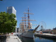 帆船日本丸 みなとみらい 観光 横浜 船 海 博物館