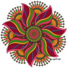 Mandala Art Lesson, Mandala Painting, Wall Drawing, Geometric Logo, Mandala Coloring, Tribal Art, Fractal Art, Ottawa, Dark Colors