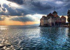 Sorcerer's Castle: Veytaux, Switzerland