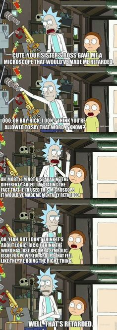 Rick and Morty explains all
