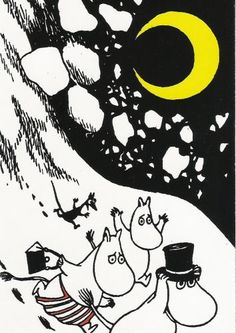 Tove Jansson knew a thing or two about merchandising. Like a one woman Nordic Disney she was as early as the mid selling handkerchiefs piggy banks dustbins suspenders and marzipan Moomins. Steampunk Illustration, Illustration Art, Comic Character, Character Concept, Moomin Books, Moomin Valley, Tove Jansson, Flirt, Weird Creatures