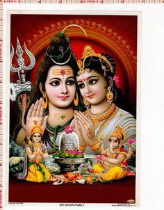 hinducosmos: Lord Shiva with Parvati, Ganesha and Kartikeya (via clipartsmania) Shiva Parvati Images, Shiva Hindu, Shiva Art, Hindu Deities, Hindu Art, Durga Maa, Durga Images, Lakshmi Images, Ganesh Images