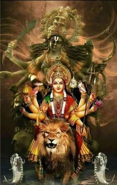Navratri Puja will help you overcome all your negativities. Flourish with wealth on this Navratri by offering Homam to Lakshmi, Saraswathi & Durga. Durga Ji, Saraswati Goddess, Kali Goddess, Maa Durga Photo, Maa Durga Image, Shiva Parvati Images, Durga Images, Krishna Images, Maa Durga Hd Wallpaper