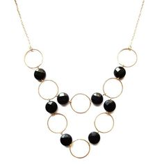 Double strand bib necklace by Alicia Marilyn Designs