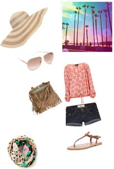 """""""dreaming beaches"""" by gennariclaudia ❤ liked on Polyvore"""