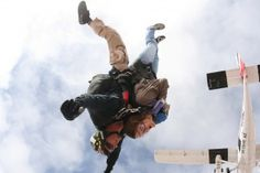 Get Out of Your Comfort Zone...Jump Out of a Plane! | by Dave Ward of TheFitClubNetwrok.com