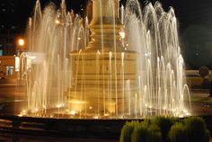 Fountain at Shipra Mall, Ghaziabad, India