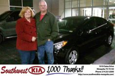 https://flic.kr/p/DiiiBk | Happy Anniversary to Jacqueline on your #Kia #Forte from Mike Stanton at Southwest Kia Mesquite! | deliverymaxx.com/DealerReviews.aspx?DealerCode=VNDX