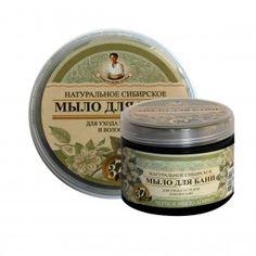 """Naturalne syberyjskie mydło o wyjątkowych właściwościach pielęgnacyjnych . Kosmetolodzy z moskiewskiej firmy """" Pierwoje reshenie """" opierając się na wieloletnich doświadczeniach i tradycjach mieszkańców Syberii , po dwóch latach badań wybrali 37 syberyjskich roślin, z których wyciągi, ekstrakty i oleje  (z zimnego tłoczenia) stanowią aktywne składniki tego unikalnego mydła. Na bazie naturalnych składników stworzyli idealną formułę pielęgnacji ciała i włosów."""