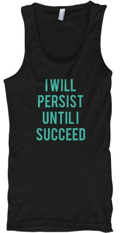 I will persist until i succeed essay