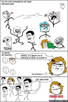 Memes chistosos para facebook: Hay frases que no deberían decir los profesores → #memesdivertidos #memesenespañol #memesparafacebook #Memestumblr #Memeswhatsapp