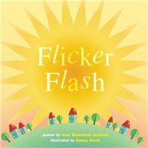 Flicker Flash: A poetic exploration of the wondrous ways light illuminates our world. Great combination of poetry and science.