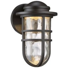 Steampunk dwelLED Indoor/Outdoor Wall Sconce by WAC Lighting