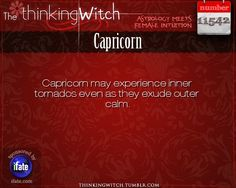 Thinking Witch - Capricorn: . http://ifate.com
