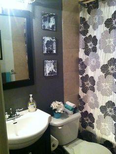 Small bathroom decor #bathroom #decorating