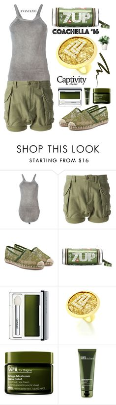 """""""Anastazio-casual spring"""" by anastazio-kotsopoulos ❤ liked on Polyvore featuring Lost & Found, NLST, Valentino, Anya Hindmarch, Clinique, Origins and Stila"""