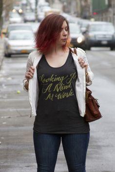 Looking for a Mind at Work Hamilton Shirt | Jordandene