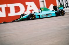 Pretty F1 cars? 1991 Leyton House Racing GC911. - Imgur