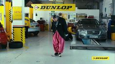 What is the LAST word???  Benedict Cumberbatch TV Commercial Dunlop tyres 2015 - Harem Pants (saved 8-7-15)