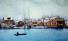 Kashmiri Artist Builds Bridges with Facebook Exhibit - NYTimes.com