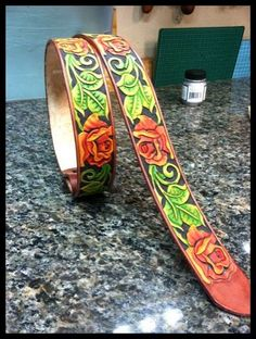Rose belt - Miscellanious stuff I make - Gallery - Leatherworker.net