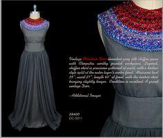 vintage Christian Dior dress