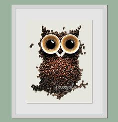 Hey, I found this really awesome Etsy listing at http://www.etsy.com/listing/116885749/coffee-owl-artwork-8x10-art-print-coffee