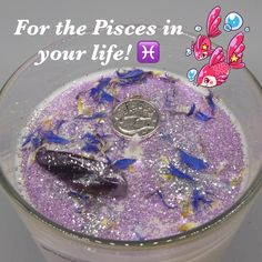 Pisces season is here! This sea-scented candle would make the perfect gift for the Pisces in your life! Vegan Candles, Soy Candles, Candle Jars, Scented Tea Lights, Scented Candles, Zodiac Candles, Handmade Candles, Handmade Gifts, Candle Shop