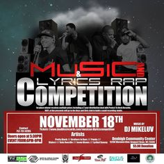 """#regram via @aville828 . . . """"The @music_and_lyrics_competition is actually happening and it's going down on November 18th at the Denbigh Community Center in Newport News VA. Please come on out and support as we find new artists in the one of a kind competition all while giving back to the community. More importantly to the Boys and Girls Club of the Virginia Peninsula. #radio #personality #photooftheday #igers #online #internet #music #wesupportlocalartists #nationwide #worldwide #global…"""