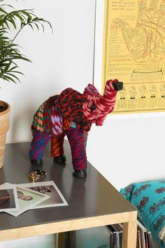Woven Elephant Figure - Urban Outfitters