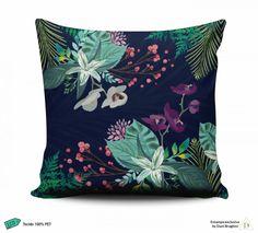 Almofada Orquídeas - Dani Braghini Design