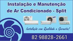 Instalação e manutenção de ar condicionado split zap 82 996981179
