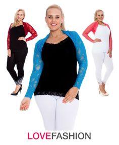 """Love Fashion Belero Shrug Plus Size"" by lovefashionuk on Polyvore"