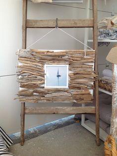 Drift wood frame by mayagabi.