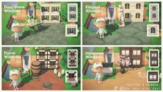 Animal Crossing Villagers, Animal Crossing Pocket Camp, Animal Crossing Game, Got Any Games, Motif Acnl, Spring Animals, Motifs Animal, Path Design, Window Design
