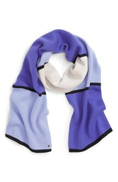 kate spade new york mondarian colorblock scarf available at #Nordstrom