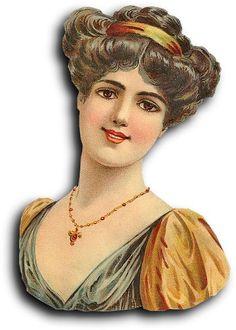 Victorian Scrap: Lady