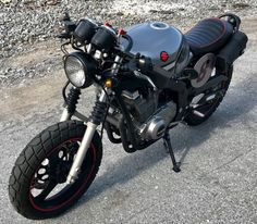 2007 SUZUKI GS500 CAFE RACER SCRAMBLER BRAT ROAD MOTORCYCLE LOW MILES 3800 | Custom Cafe Racer Motorcycles For Sale