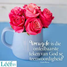 Afrikaanse Quotes, Faith Quotes, Acceptance, Believe, Van, Mugs, Rose, Flowers, Recipes