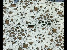 ▶ Patrón Para Tejer tapete Cuadrado a Crochet - YouTube