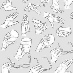 Hand Drawing Reference, Drawing Reference Poses, Character Drawing, Character Design, Anatomy Drawing, Hand Sketch, Drawing Base, Hand Art, Art Drawings Sketches