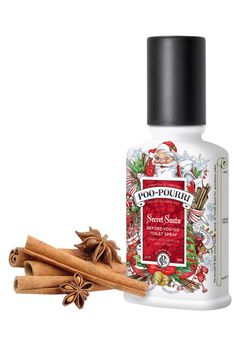 Poo-Pourri Toilet Spray leaves your bathroom smelling fresh and clean. Simply spray the water in the bowl with Poo-Pourri Toilet Spray before using the toilet to prevent odors before they begin! Bathroom Freshener, Secret Santa, The Secret, Silly Gifts, Toilet Spray, Christmas Bathroom, Coffee Dessert, Poo Pourri, Natural Essential Oils