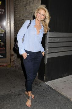 Classy clean outfit Love Christie Brinkley
