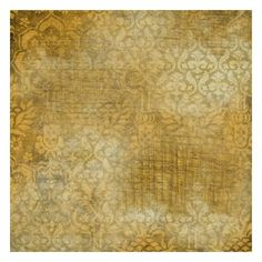 """Vintage Gold Paper """"Pick Your Own Cherries"""" Digital Scrapbooking Kit ❤ liked on Polyvore"""