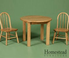 Kid's Table & Mini Bow Chairs. http://www.homesteadfurnitureonline.com/youth-furniture_table-mini-bow-chairs.html