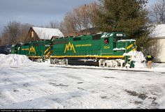 RailPictures.Net Photo: GMRC 304 Green Mountain Railroad EMD GP40-2 at Chester, Vermont by Tim Stockwell