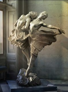 Imagen de hermanas- escultura de bronce de Richard MacDonald