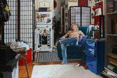 Vincent Giarrano ~ Dennie's Apartment, 24x36, oil on canvas