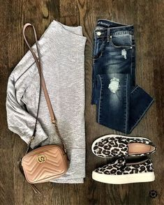 """summer outfit """"Leaders are never satisfied; they continually strive to be better. Casual Fall Outfits, Fall Winter Outfits, Autumn Winter Fashion, Trendy Outfits, Cute Outfits, Dressy Jeans Outfit, Early Fall Outfits, Black Outfits, Fashion Spring"""
