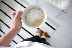 Homevialaura | Nespresso coffee | striped carpet